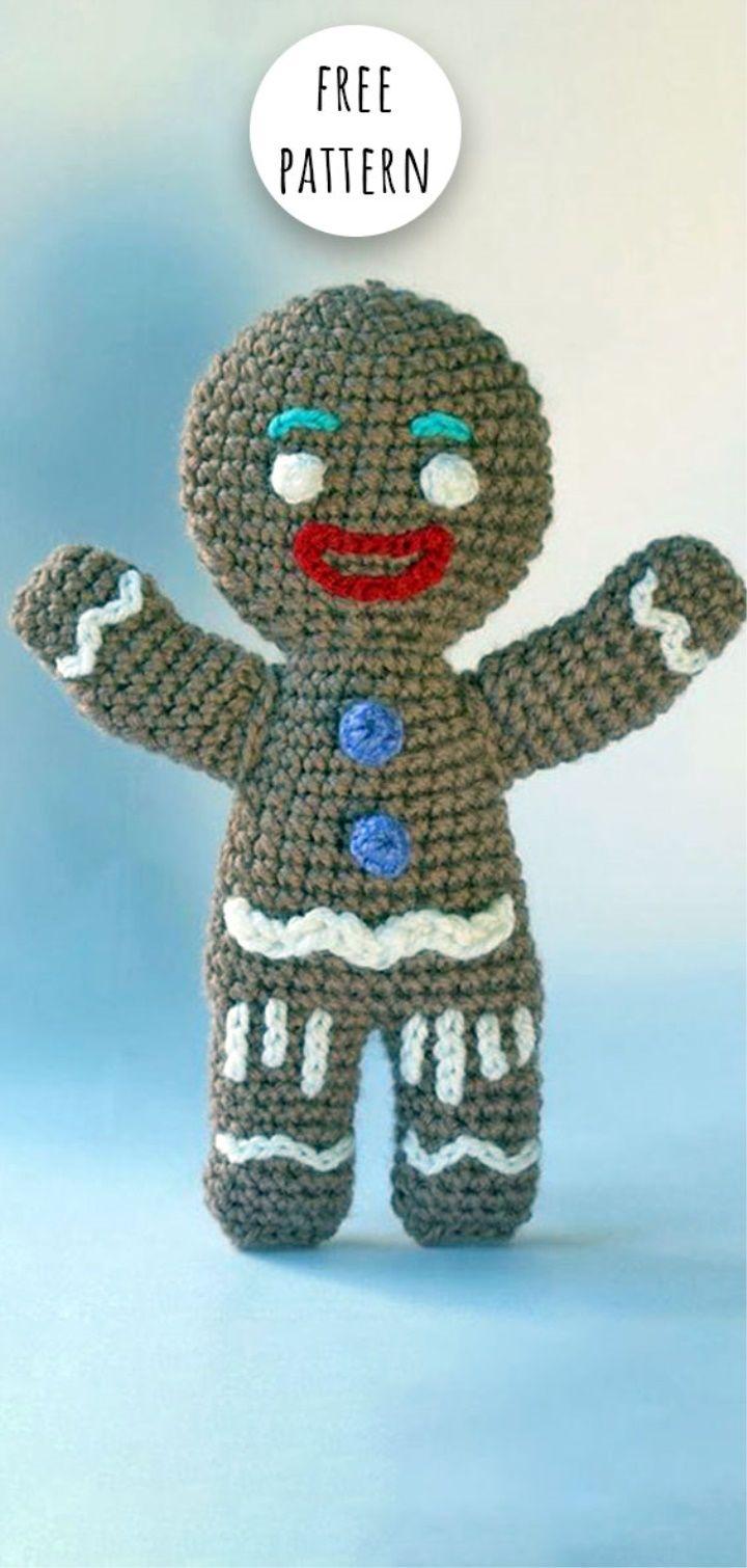Amigurumi de NAVIDAD del reno Rudolph a crochet...patrón gratis ... | 1510x720