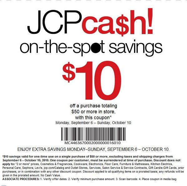 Jcpenney Coupons Printable 2014 August Jcpenney Coupons Free Printable Coupons Coupons