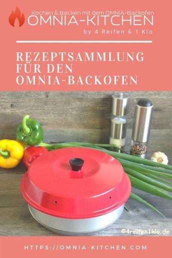 Rezeptsammlung für den Omnia-Backofen. OMNIA-KITCHEN hat die größte komplett Datenbank für Omnia-Rezepte #essentialsforcamping