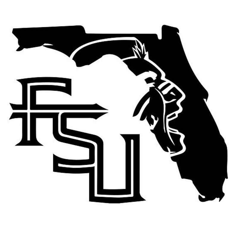 Fsu Vinyl Etsy Fsu Logo Fsu Vinyl