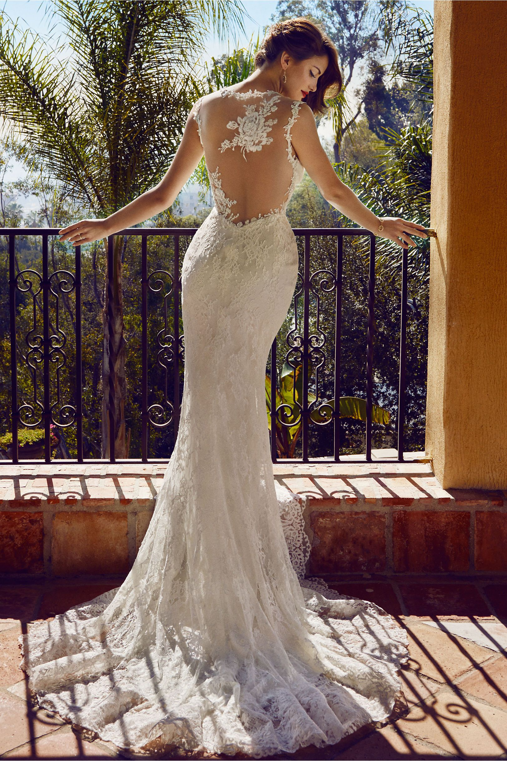 Wedding dresses with unique backs that make you say wow briar theres no reason you cant find the perfect unique wedding dress we ombrellifo Image collections