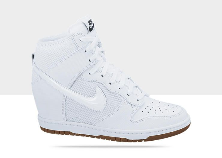 competitive price a1302 5fd12 Nike Dunk Sky Hi Mesh Womens Shoe... white on white on white