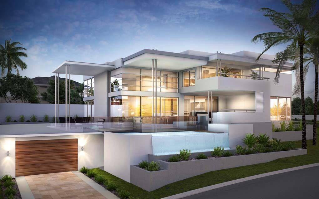 30 fachadas de casas modernas dos sonhos construct for 30 fachadas de casas modernas dos sonhos