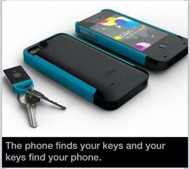 Great idea wonder if they make it for Android phones