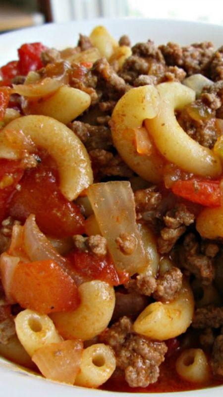 Best Hamburger Goulash Recipe