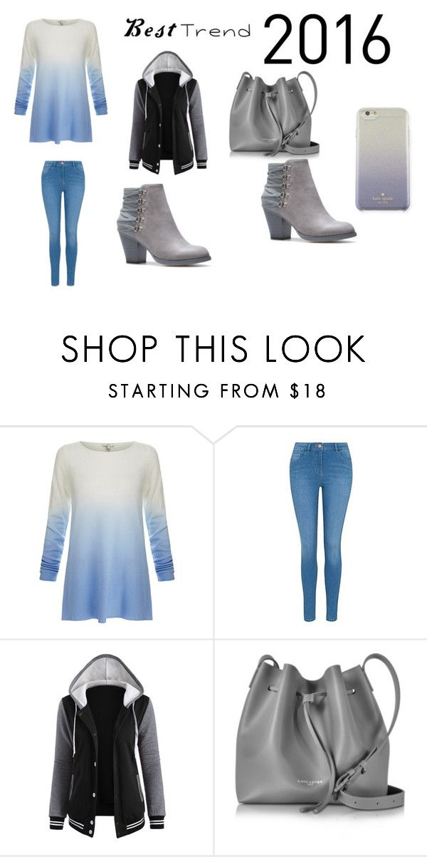 """""""casual clothing"""" by monique-oliver on Polyvore featuring Joie, George, Lancaster and Kate Spade"""
