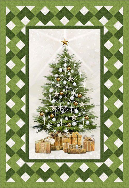Christmas Elegance Lattice Quilt Kit LQK16062   Quilt n Sew and ... : holiday quilt kits - Adamdwight.com