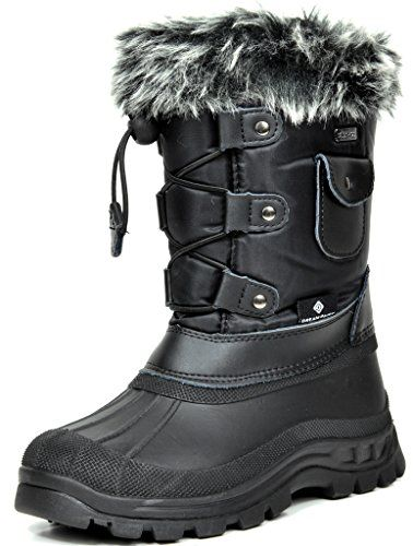 Columbia Boys Girls Youth Snow Winter Boot Powderbug Forty Little Kid//Big Kid
