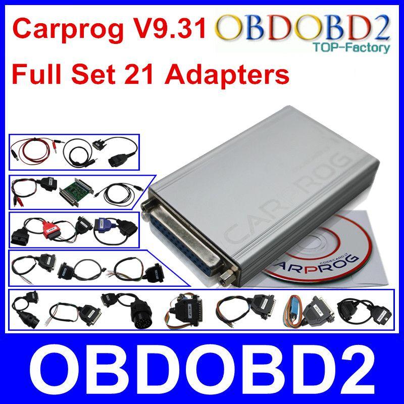 Newest CARPROG Full Set V9 31 Programmer Auto Repair Airbag Reset