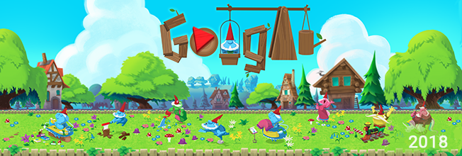Garden gnomes Google Doodle game in 2020 Doodles games