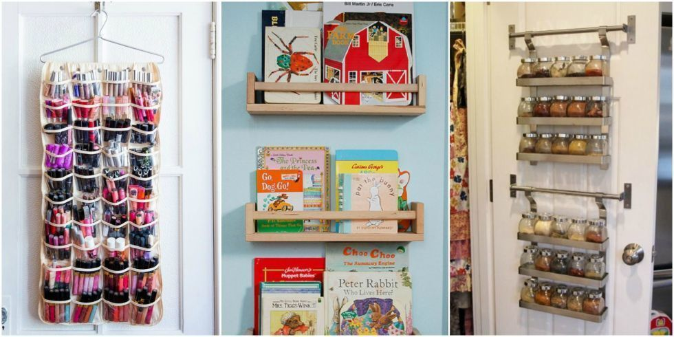 10 Things You Never Thought To Store On The Back Of A Door Closet