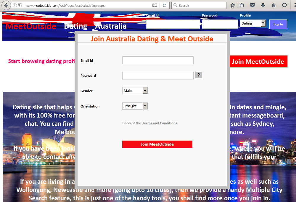 Join multiple dating sites