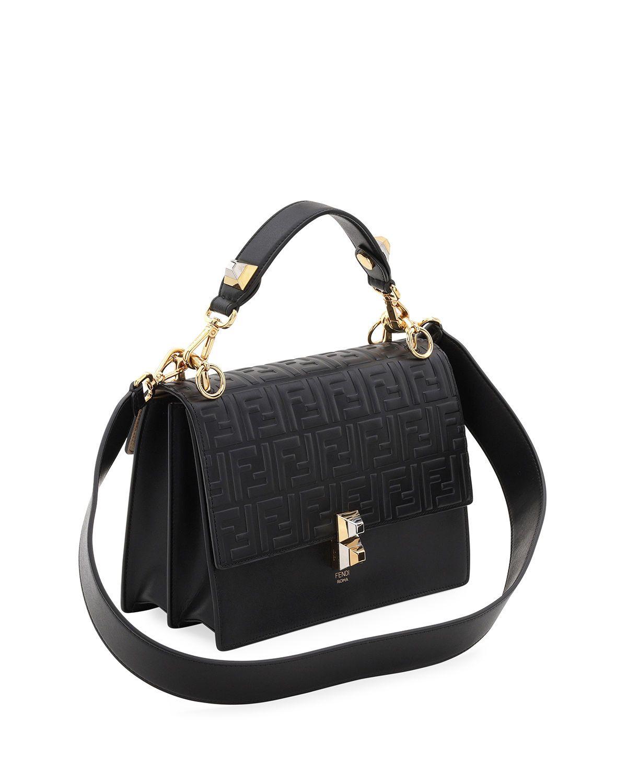 b8dba64536e5 Kan I FF-Embossed Liberty Shoulder Bag