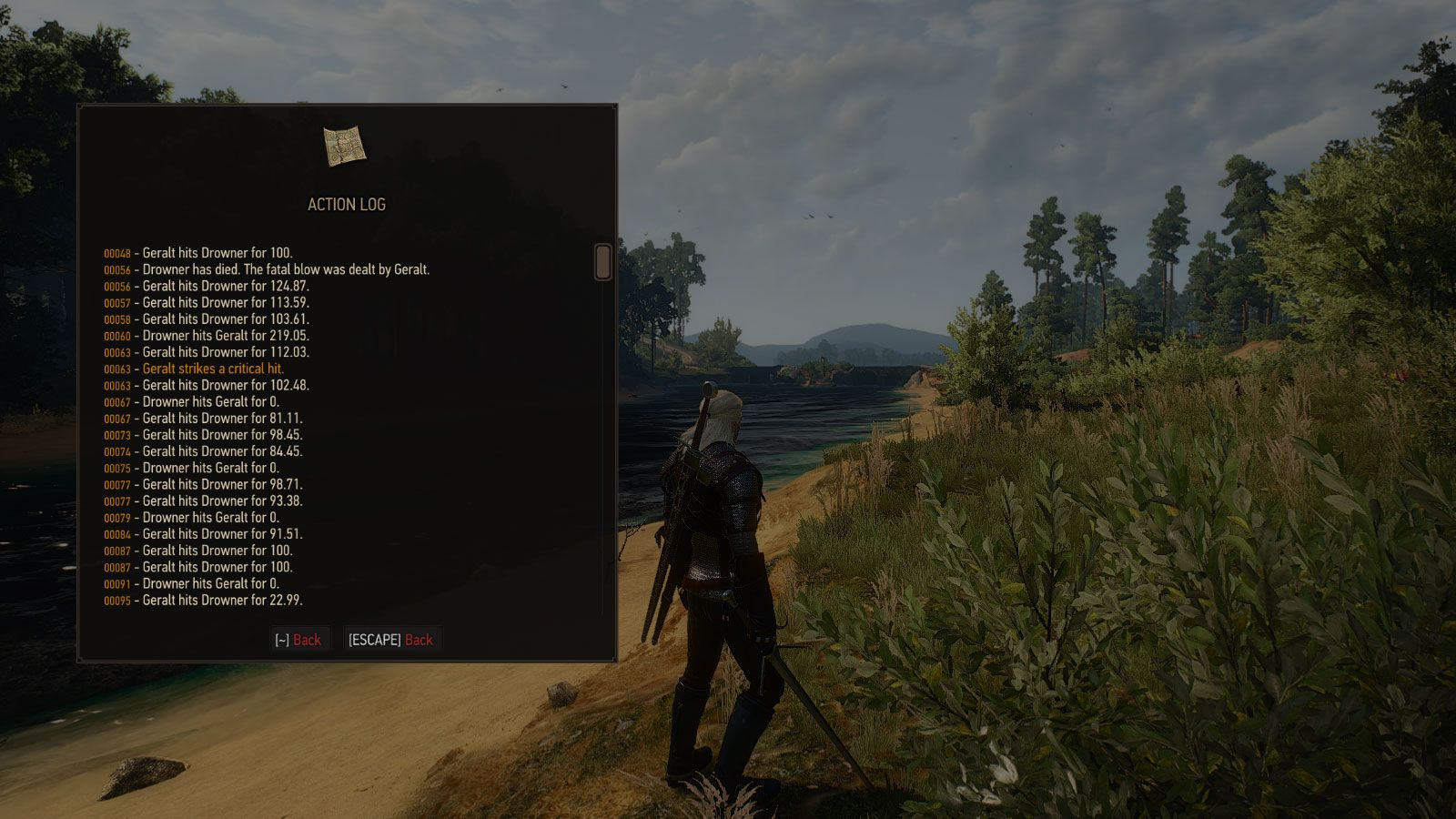 Action Log at The Witcher 3 Nexus - Mods and community | My