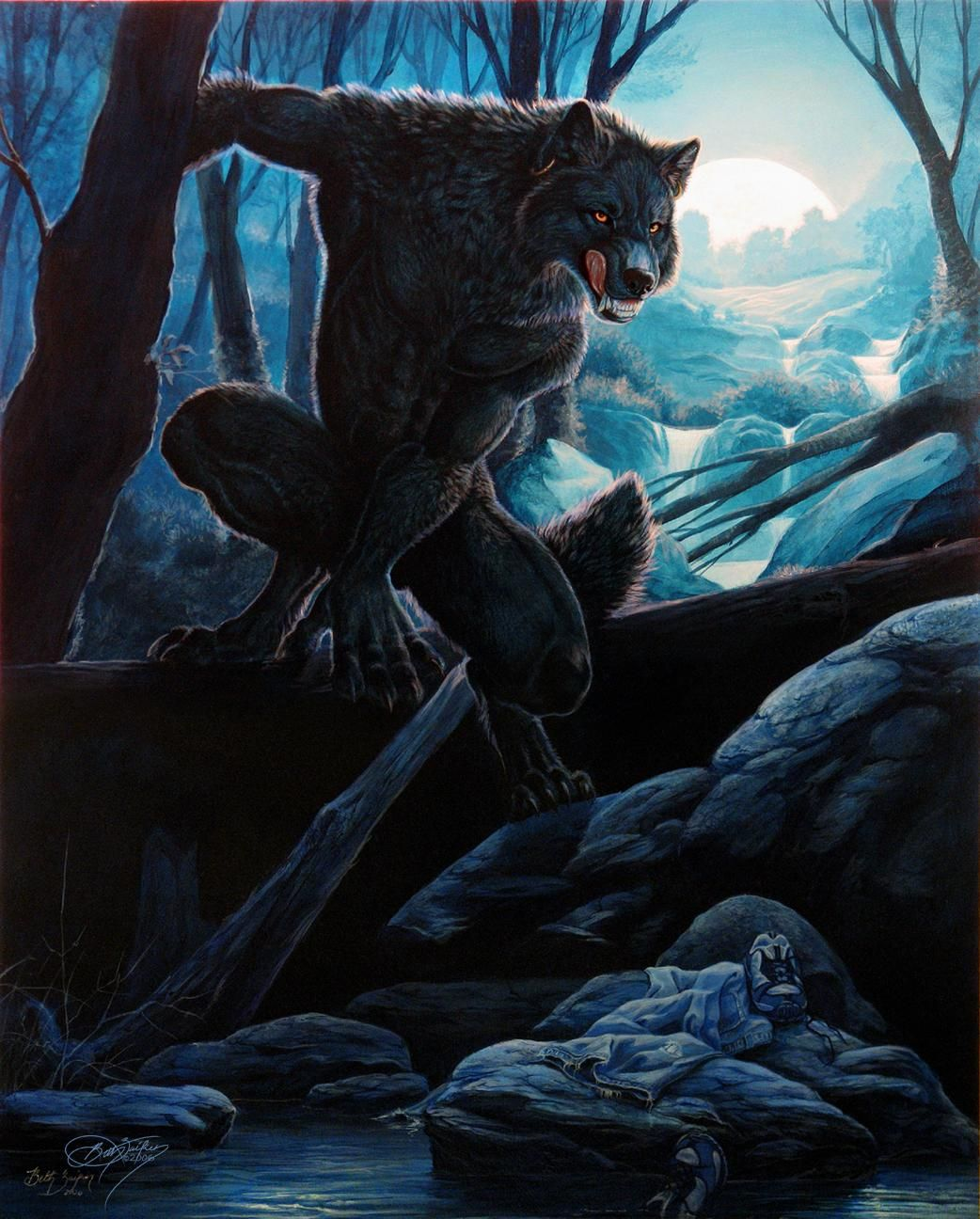 Les Loup Garous Werewolf Art Fantasy Creatures Werewolf