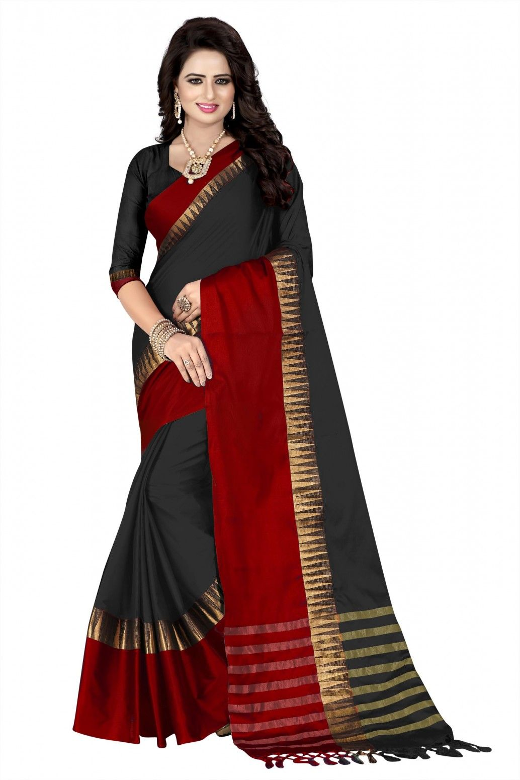 85115e6821 Buy Mastani Cotton Silk Saree For Womens Online at Low prices in India on  Winsant,
