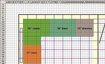 Design Floor Plans With Excel Floor Plan Design Floor Plan Layout Free Floor Plans