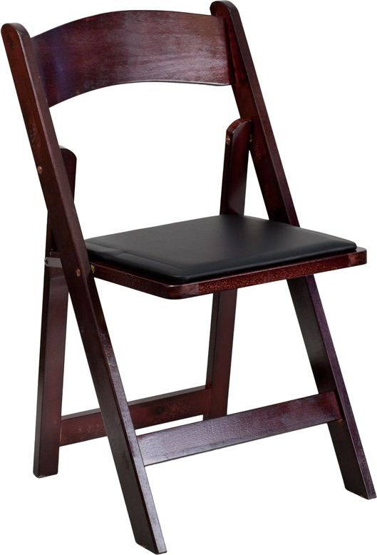 Multi Purpose Commercial Wooden Folding Chair Lightweight Design