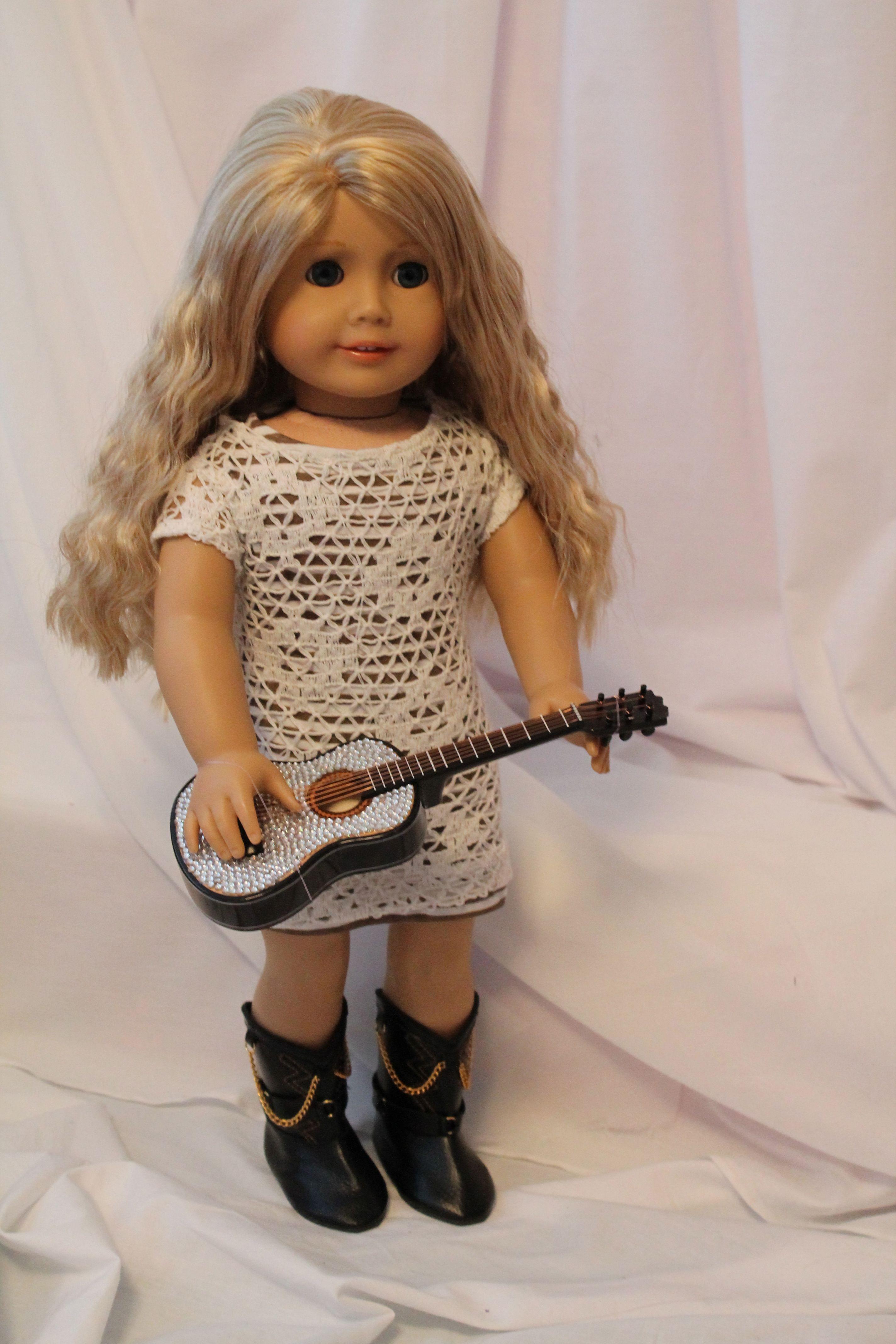 American Girl Custom Taylor Swift by Terrie | American Girl Dolls ...