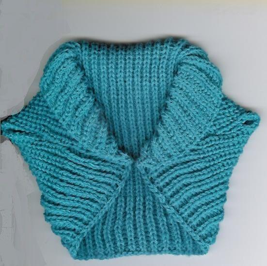 Back To The Future Shrug Shrug Knitting Pattern