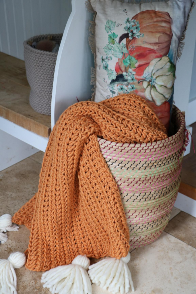Photo of Crochet Chunky Blanket – Free Pattern – MJ's off the Hook Designs
