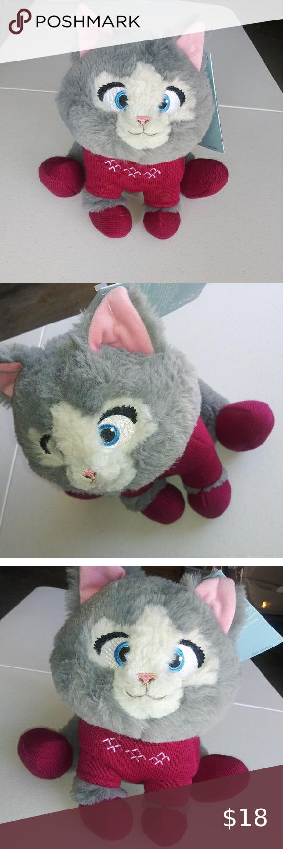 Disney S Frozen Kitten Plush Nwt In 2020 Disney Frozen Kitten Toys Kitten