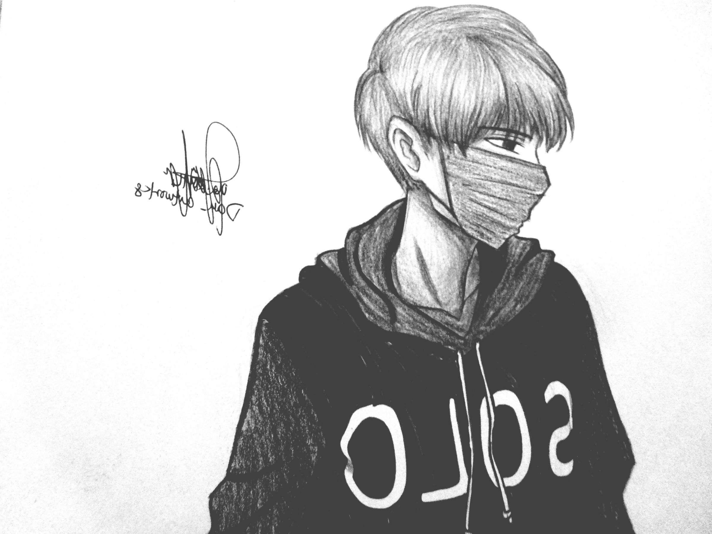 17 Anime Black And White Drawings Anime Drawings Boy Boy Drawing Anime Boy Sketch