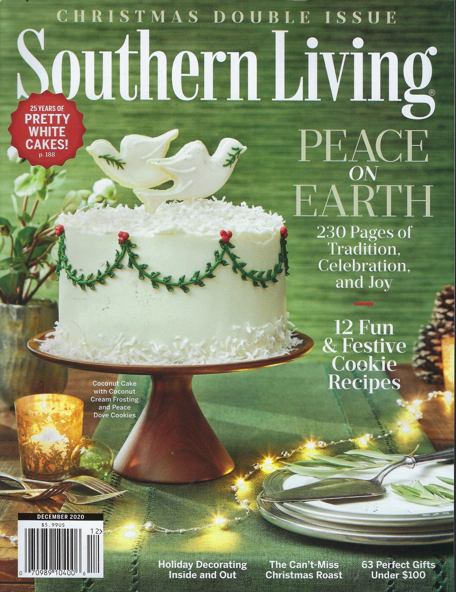 Southern Living Dec 2021 Christmas Buttermints Southern Living December 2020 Etsy Southern Living Recipes Southern Recipes