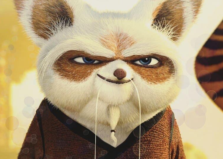 Kung Fu Panda Master Shifu Animal