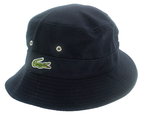 8e2240fc5 Lacoste Classic Bucket Hat - Navy | Tee look ve | Hats, Baseball ...