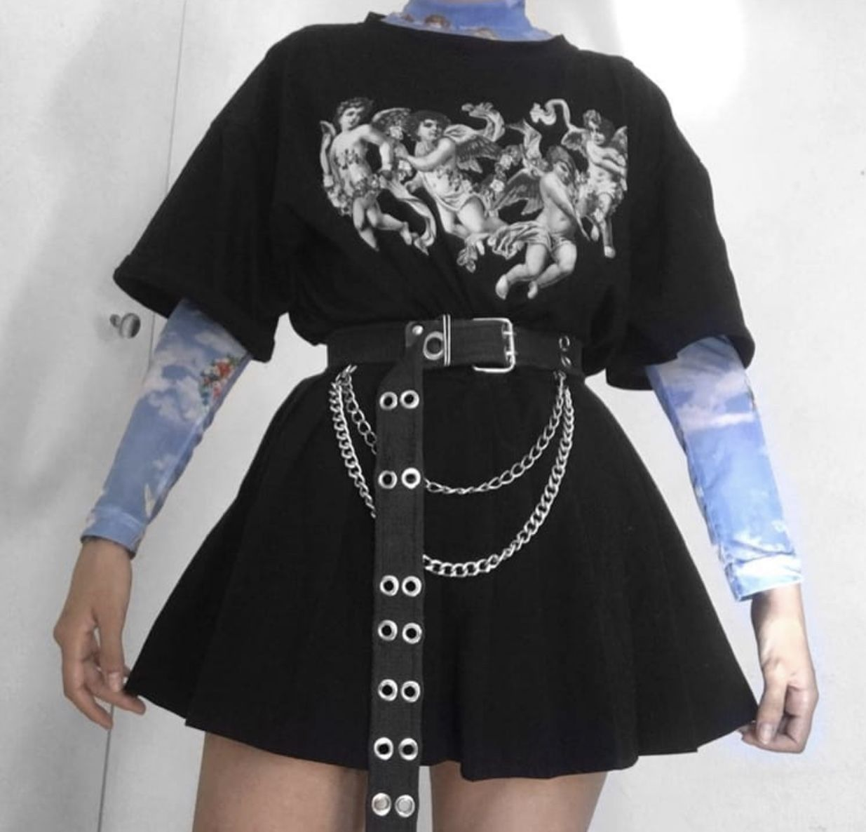Pin By Julieth Luna On Ma Style Aesthetic Grunge Outfit Egirl Fashion Edgy Outfits