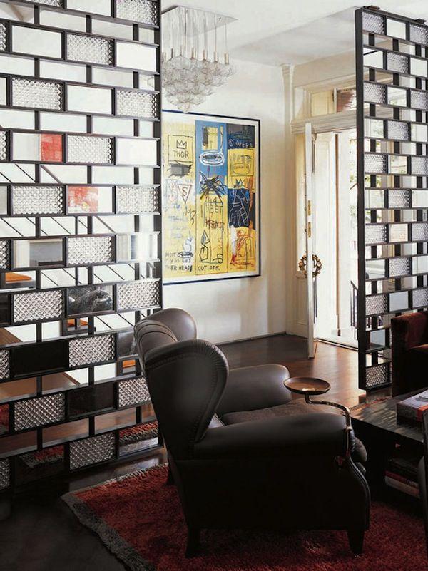 Decorative Screens For Living Rooms Lighting Room Dividers Film Inspiration Pinterest Hanging Glass Bricks Foyer Design Partitions