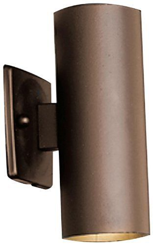 Kichler Lighting 15079azt Up Down Accent 12 Volt Deck And Patio Light Textured Architect Kichler Lighting Bronze Outdoor Lighting Low Voltage Outdoor Lighting