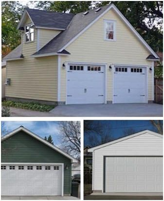 Free Two Car Garage Plans   Download Free Construction Plans For Any Of  Three Different