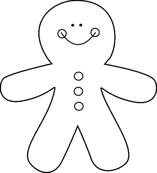 Black And White Gingerbread Man Preschool Christmas Crafts Preschool Christmas Gingerbread Activities