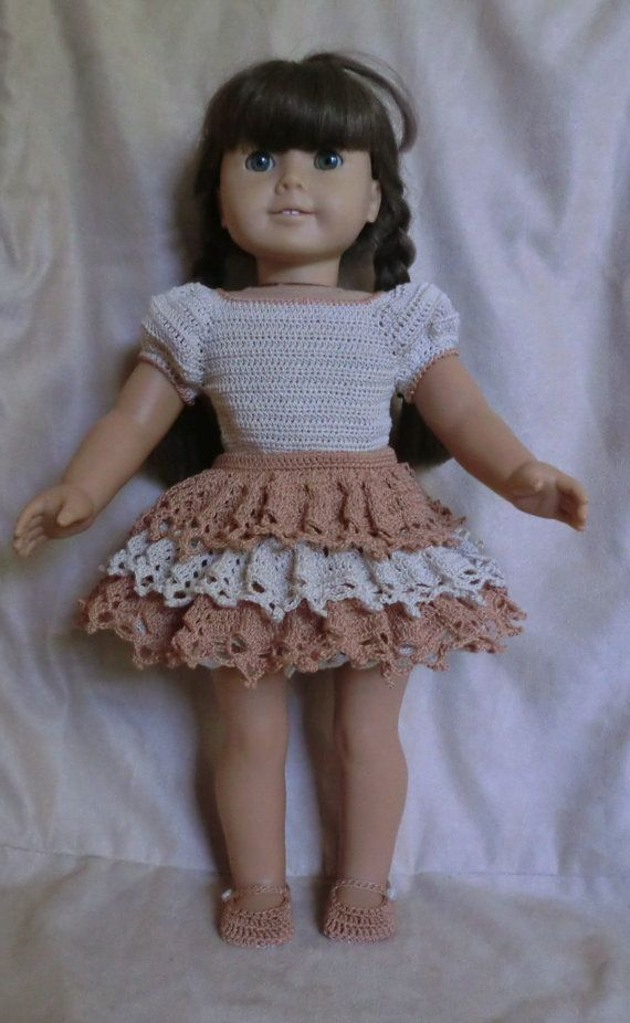 AG 232 Clogging Outfit Crochet Pattern for American girl dolls ...