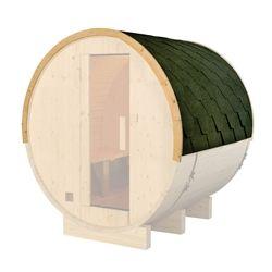 Best Green Shingle Bitumen Sauna Roof Set For 71 X 72 X 75 Inch 640 x 480
