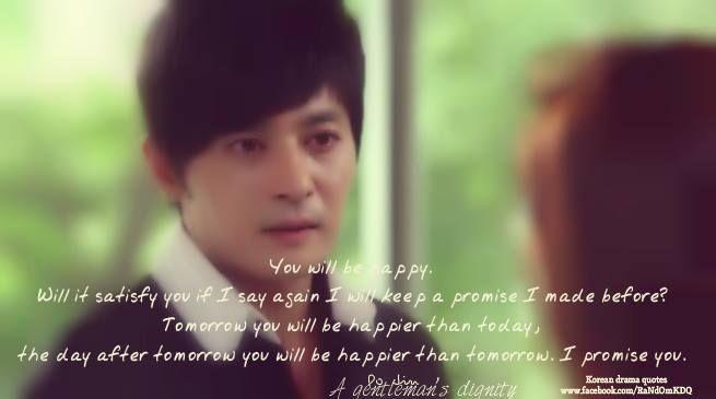 a gentleman s dignity korean drama korean drama quotes drama