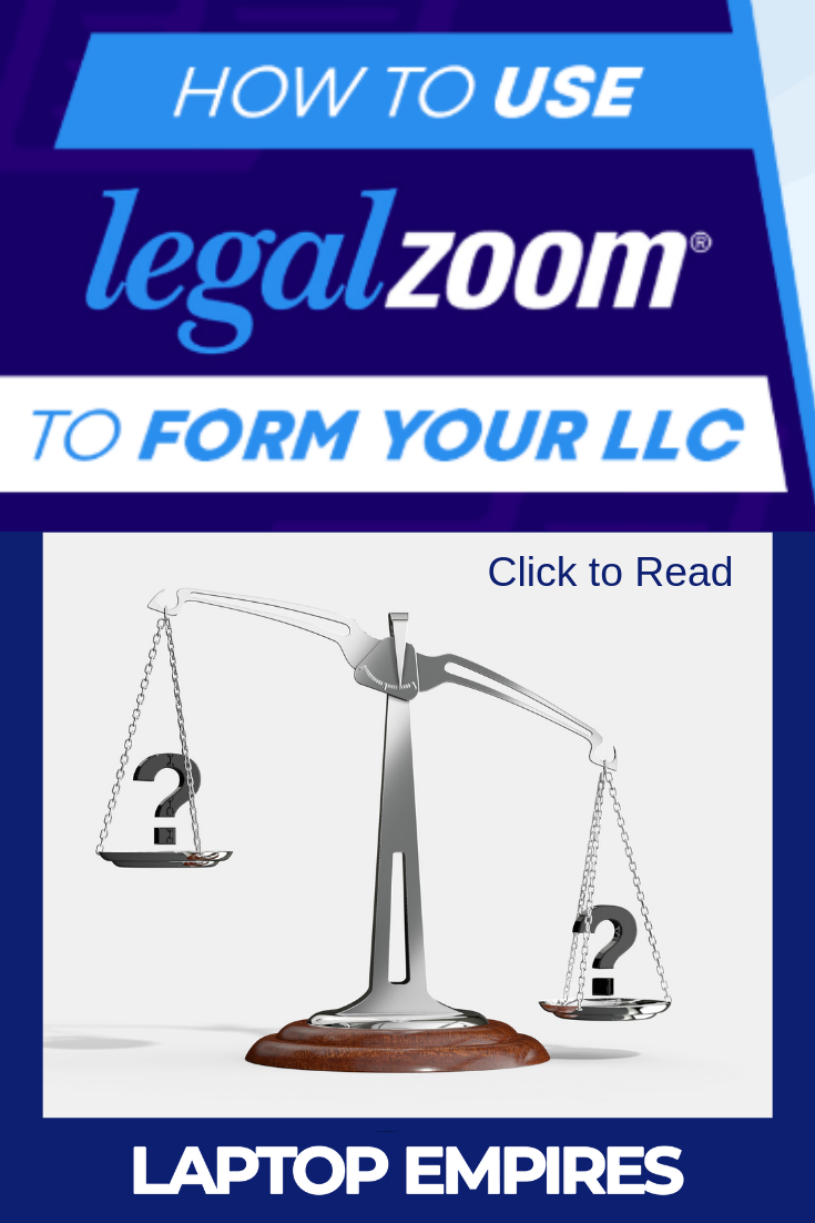 Legalzoom Review How To Form An Llc With Legalzoom With Images