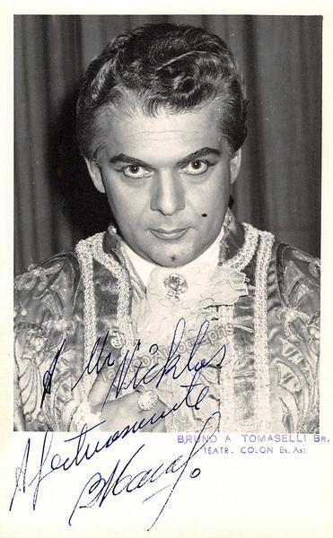 TOMASELLI Bruno - Signed Photo