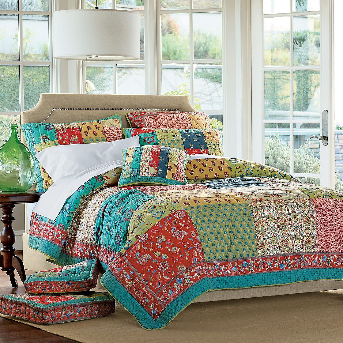Kerala Handmade Patchwork Quilt | The Company Store