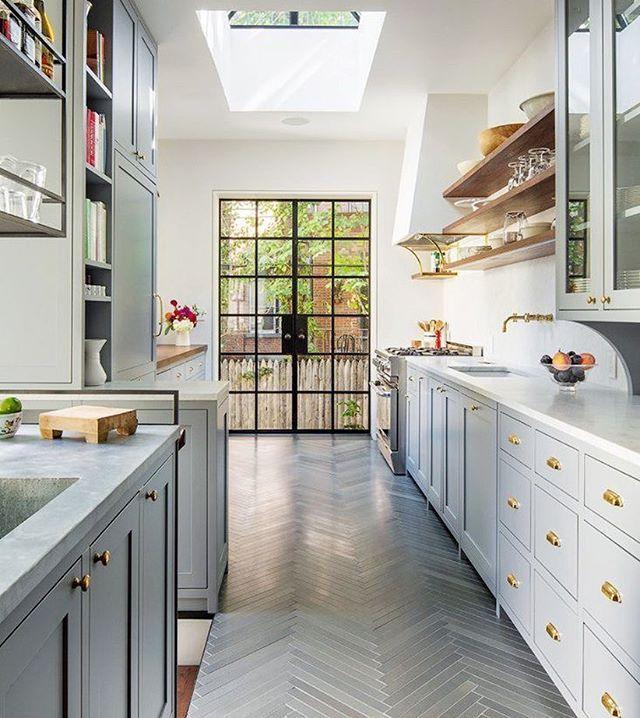 white and gray kitchen inspiration | Kitchen & Dining | Pinterest ...