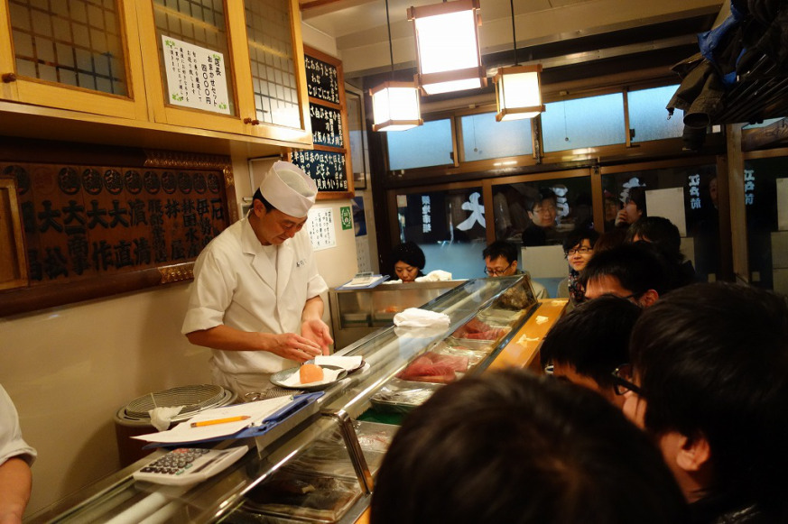 A Visit To Sushi Dai Japan S Best Sushi Restaurant According To