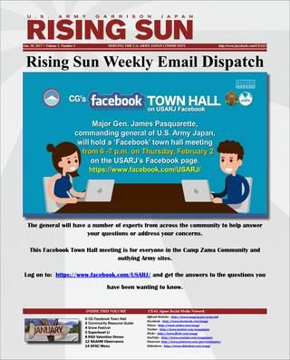 Rising Sun Weekly Email Dispatch (Volume 1, Number 3)  Weekly Newsletter