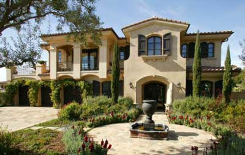 tuscan home design. Tuscan style home  Home Ideas Pinterest