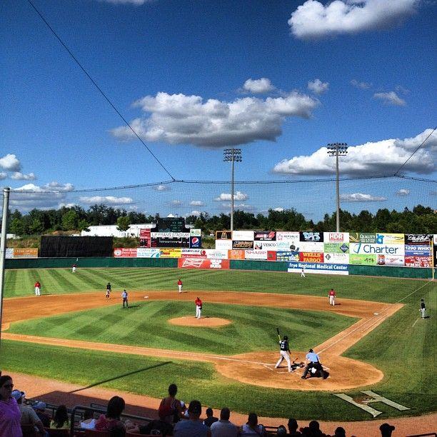 Hickory Crawdads Baseball Park Burke County North Carolina Homes