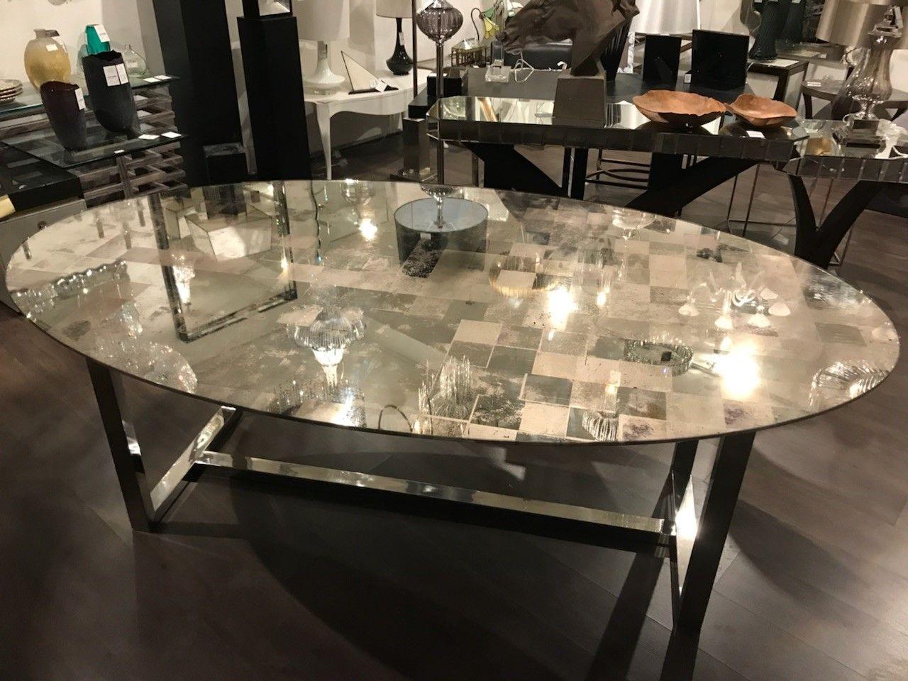Antique Mirror Table Top Antique Mirror Pinterest Table