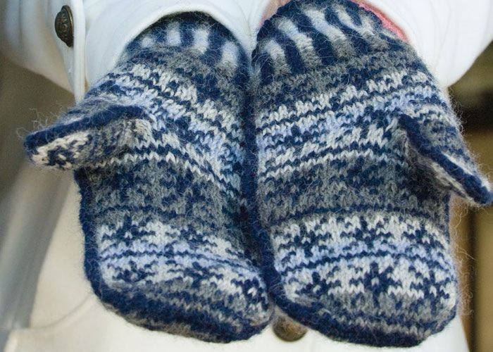 Free Knitting Patterns You Have to Knit   White witch, Fair isle ...