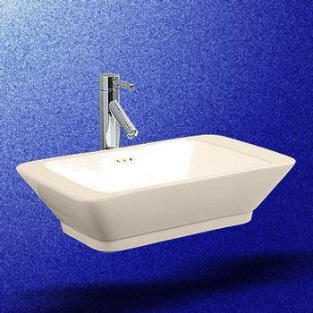 Vessel Sinks White Square Tenor Rectangular Vessel Sink