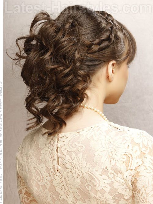 32 Cutest Prom Hairstyles For Medium Length Hair Medium Hair Styles Cute Prom Hairstyles Hair Styles